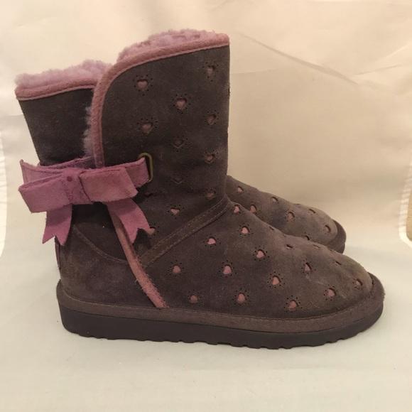 7ee861f2fcb Uggs Joleigh purple boots girls